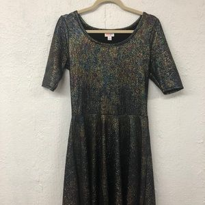 LuLaRoe Elegant Nicole dress